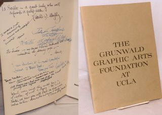 The Fred Grunwald Collection: a memorial exhibition, March 29 - May 1, 1966, Dickson Art Center,...