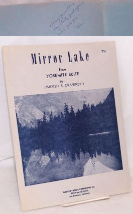 Mirror Lake from Yosemite Suite. Timothy S. Crawford