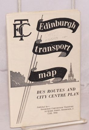 Edinburgh corporation transport [map], bus routes