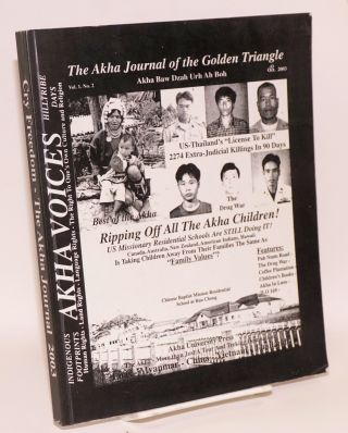 The Akha Journal of the Golden Triangle. Vol. 1, no. 2 (October 2003