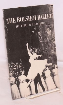 S. Hurok and ANTA present The Bolshoi Ballet; War Memorial Opera House, June 1959 (playbill