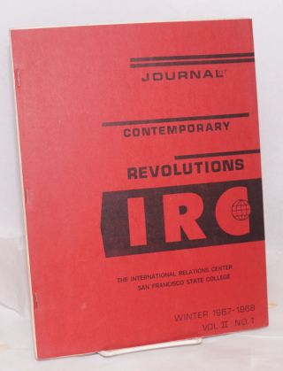 The Journal of Contemporary Revolutions: Winter 1967-68, vol. II no. 1