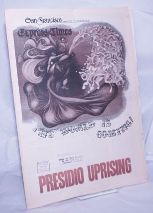 San Francisco Express Times, vol.1, #30, August 14, 1968: Presidio Uprising. Marvin Garson,...
