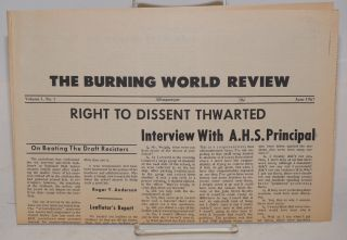 The Burning world review. Vol. 1, no. 1 (June 1967)