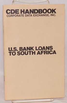 CDE handbook: U.S. bank loans to South Africa