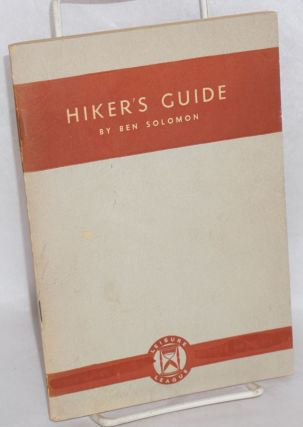 Hiker's guide. Ben Solomon.