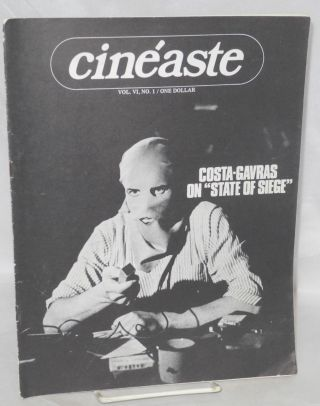 "Cinéaste; vol. VI no. 1; Costa-Garvis on ""State of Siege"""