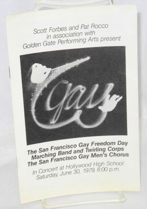 Scott Forbes and Pat Rocco in association with Golden Gate Performing Arts present The San...