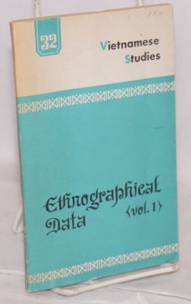 Ethnographical data (vol. 1