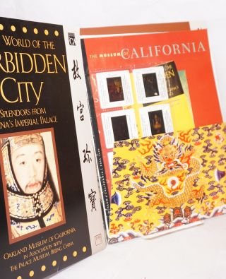 Secret world of the forbidden city; splendors from China's imperial past. October 14 2000 - January 24 2001[press packet]