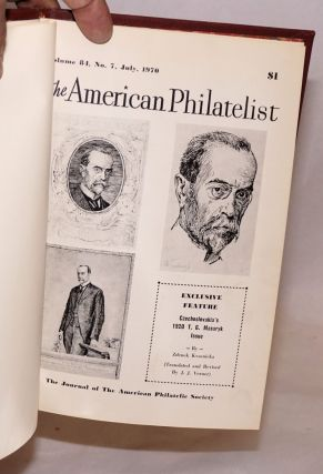 The American philatelist,; July 1970, vol. 84, no. 7; exclusive feature, Czechoslovakia's 1920 T. G. Masaryk issue by Zdenek Kvasnicka