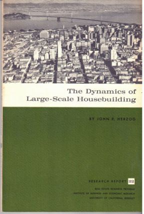 The dynamics of large-scale housebuilding