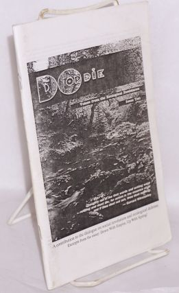 Do or Die: voices from the ecological resistance. Issue ten