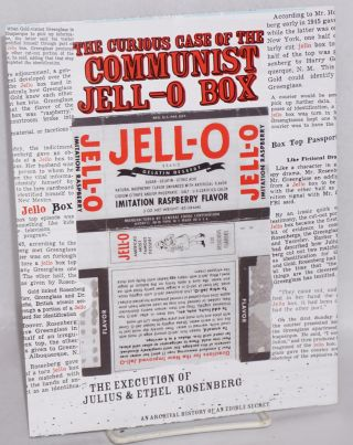 The Curious Case of the Communist Jell-o Box. The Execution of Julius & Ethel Rosenburg