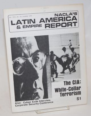 NACLA'S Latin America and empire report: formerly NACLA newsletter