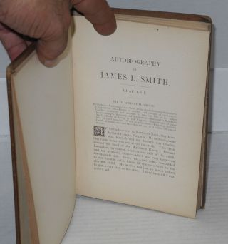 Autobiography of James L. Smith, including also, reminiscences of slave life, recollections of the war, education of freedmen, causes of the exodus, etc