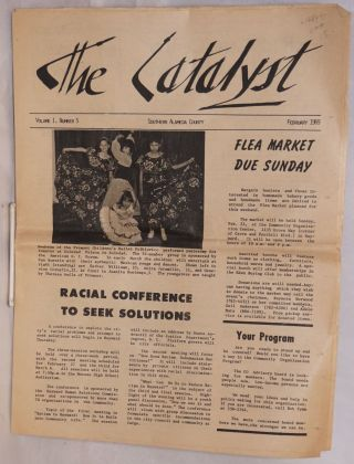 The catalyst volume I, number 5, February 1969