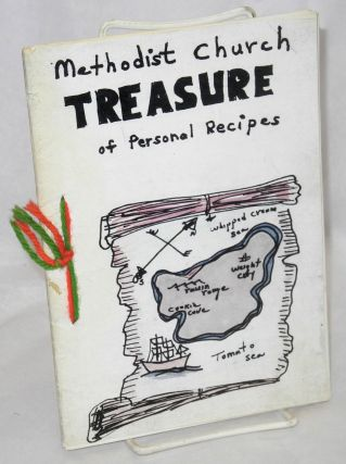 Methodist Church treasure of personal recipes