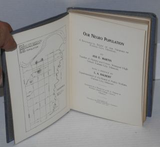 Our Negro population. A sociological study of the Negroes of Kansas City, Missiouri. With a preface by L.A. Halbert. Accepted as a thesis for a M.A. Degree at William Jewell College, Liberty, Missouri
