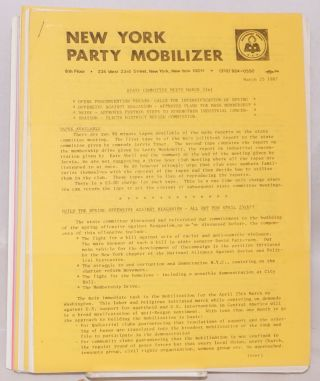 New York Party Mobilizer. [50 issues]