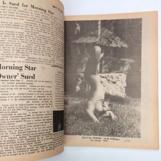 The Morning Star scrapbook first edition! In the the pursuit of happiness