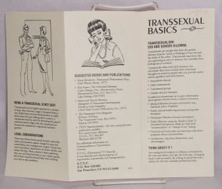 Introducing ETVC [with] Transsexual Basics [two brochures