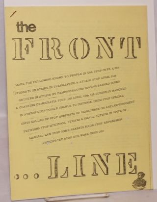 The Front Line: Vol. 1, no. 2