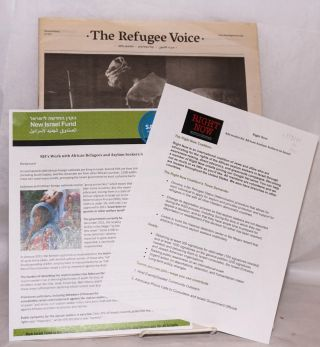 The refugee voice / Sawt al-lajiin / Kol ha-pelitim / Demesi ladatañatat. Second edition. July 2011