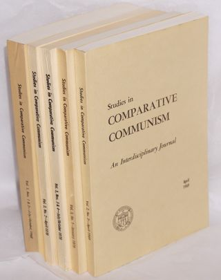 Studies in comparative communism. [five issues