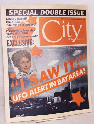 City of San Francisco: volume 9 #8 & 9, September 9, 1975, special double issue. Warren Hinckle