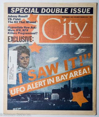 City of San Francisco: volume 9 #8 & 9, September 9, 1975, special double issue. Warren Hinckle.