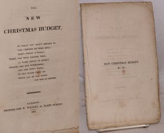 The new Christmas budget. So cheap you won't grudge it, viz.--doubts of John Bull: next--Teddy...
