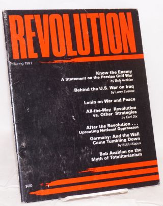 Revolution : propaganda organ of the Central Committee of the Revolutionary Communist Party...
