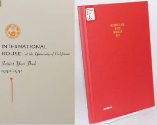 International House...at the University of California initial year book 1930 - 1931