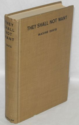 They shall not want. Maxine Davis