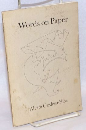 Words on Paper. Alvaro Cardona-Hine