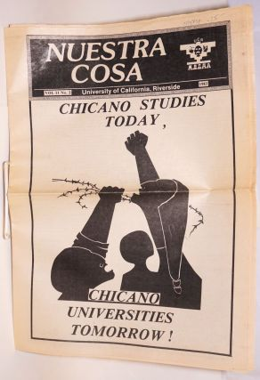 Nuestra cosa vol 11, no. 2; Chicano Studies Today