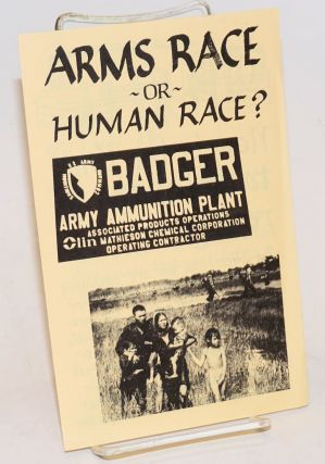 Arms race or human race? Badger for Peace