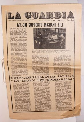 La Guardia: en English y Espanol; volume 7, no. 5, November 1976