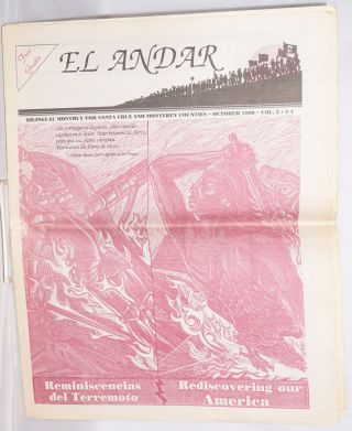 El Andar: bilingual monthly for the Santa Cruz and Monterey Counties, vol. 2 no. 4, October 1990