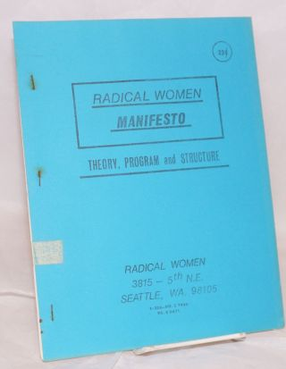 Radical Women manifesto. Theory, program and structure