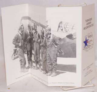 """Tuskegee Airmen Incorporated; Geo S. """"Spanky"""" Roberts Chapter [brochure]"""