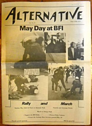 The Alternative newspaper vol. 1, no. 10, week of May 10-16: May Day at BFI