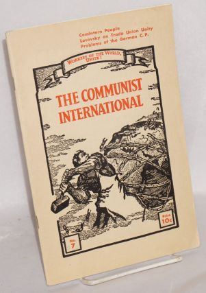 The Communist international. Vol. 12, no. 7 (April 5, 1935)