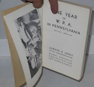 One year of W.P.A. in Pennsylvania July 1, 1935 - June 30, 1936