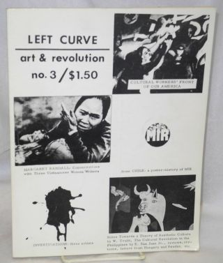 Left curve 3; art & revolution, Winter-Spring 1975
