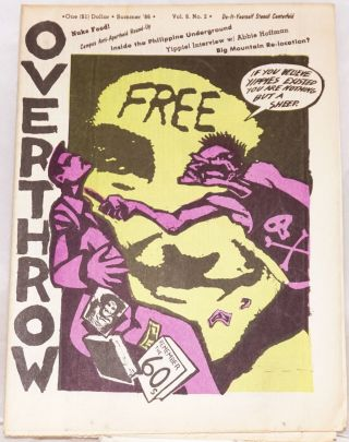 Overthrow: A Yippie Publication. Vol. 8, no. 2 (Summer 1986)