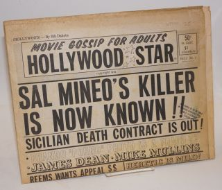 Hollywood Star: movie gossip for adults, vol. 1, no. 5: Sal Mineo's killer is now known!...