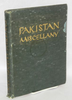Pakistan Miscellany
