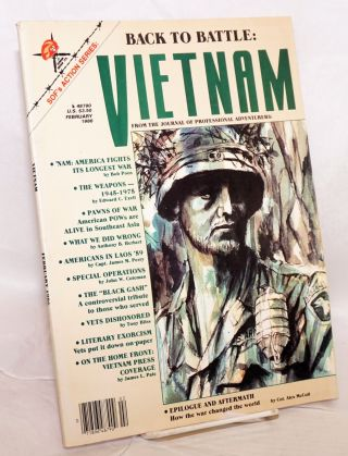 Soldier of Fortune's Action Series: Vietnam; volume II, issue 1, February/86. Robert K. Brown